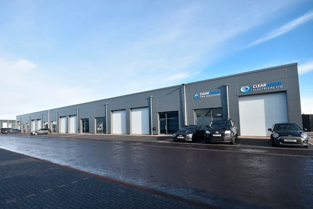 The Business Units available at City South Aberdeen