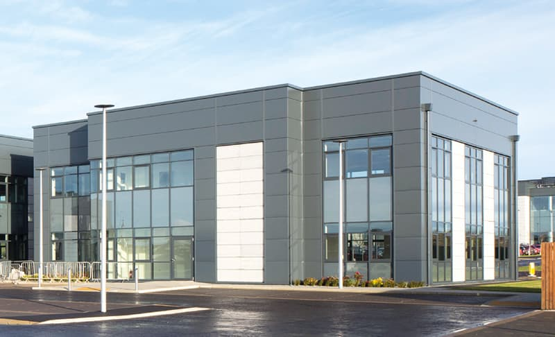 Unit C at City South Aberdeen. Suitable for use as office, retail or fitness.