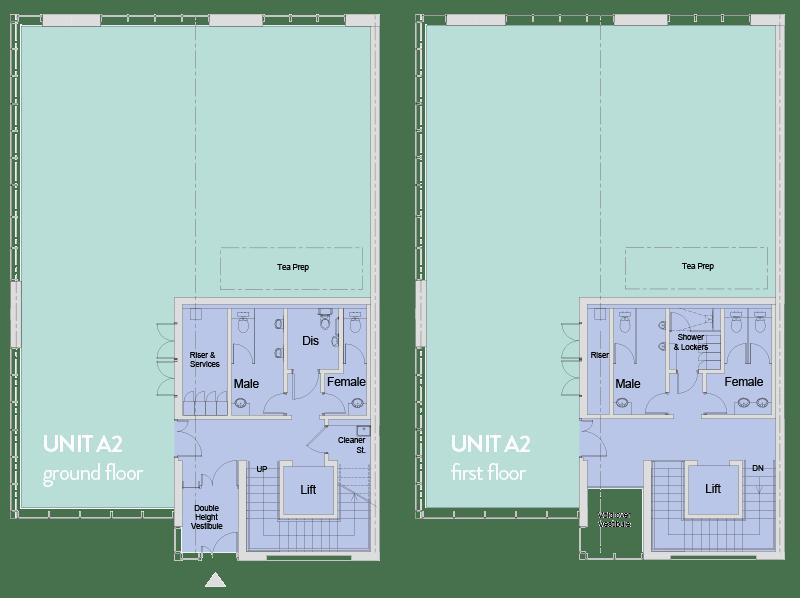 City South Unit A2 Floorplans